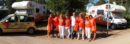 Carovana del Cuore per il 10mo anno consecutivo al PuntAla Camping Resort